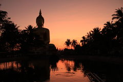 Wat Muang at twightlight Stock Image