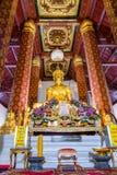 Wat Na Phra人, Wat Na Phra Meru, Phramane, Phra主要 库存照片