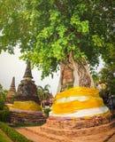 Wat Na Phra Men Arkivfoto