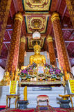 Wat Na Phra Men, Wat Na Phra Meru, Phramane, cano principal de Phra Foto de Stock