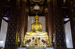 Wat Na Phra Meru or Na Phra Men temple for people pray in Ayutth Stock Photos