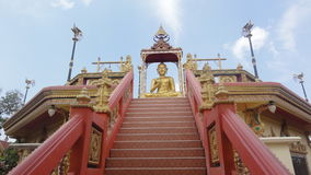 Wat Nai Yang Mongkol Wararam Temple royaltyfri fotografi