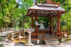Wat Nam Tok Hin Lad, Koh Samui, Thailand Lizenzfreie Stockbilder