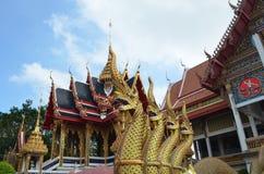 Wat nang圣地,寺庙在泰国 库存照片