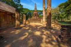 Wat Nang Phaya en el parque histórico del Si Satchanalai en Sukhothai, Tailandia Fotografía de archivo