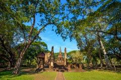 Wat Nang Phaya en el parque histórico del Si Satchanalai en Sukhothai, Tailandia Foto de archivo