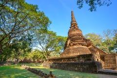 Wat Nang Phaya en el parque histórico del Si Satchanalai en Sukhothai, Tailandia Imagenes de archivo
