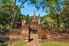 Wat Nang Phaya Temple en el parque histórico del Si Satchanalai en Sukhothai, Tailandia Fotografía de archivo libre de regalías
