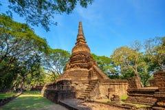Wat Nang Phaya Temple en el parque histórico del Si Satchanalai en Sukhothai, Tailandia Fotos de archivo libres de regalías