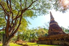 Wat Nang Phaya Temple en el parque histórico del Si Satchanalai en Sukhothai, Tailandia Imagenes de archivo