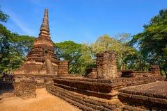 Wat Nang Phaya Temple en el parque histórico del Si Satchanalai en Sukhothai, Tailandia Fotografía de archivo