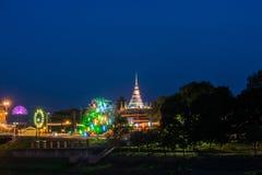 Wat Nangphaya, Pisanuloke, Thaïlande Images libres de droits