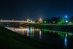 Wat Nangphaya Pisanuloke, Thailand Fotografering för Bildbyråer