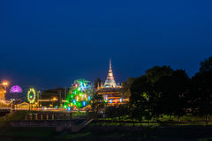 Wat Nangphaya Pisanuloke, Thailand Royaltyfria Bilder