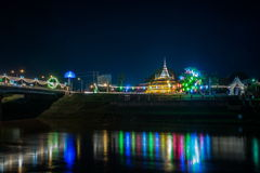 Wat Nangphaya Pisanuloke, Thailand Royaltyfri Bild