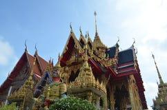 Wat nangsao, tempel i Thailand Arkivbilder