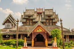 Wat Nantaram, Phayao, Ταϊλάνδη Στοκ φωτογραφία με δικαίωμα ελεύθερης χρήσης