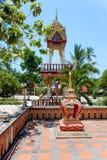 Wat Nara Charoen Suk, Koh Samui, Tailandia Foto de archivo