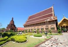 Wat Neramit Vipassana, Neramit Vipassana temple, Loei Thailand Royalty Free Stock Photography
