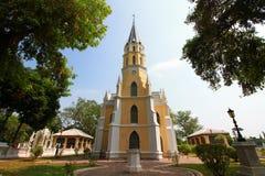 Wat Nivechdhammaprawat Immagine Stock Libera da Diritti