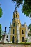 Wat Niwet Thamma Prawn Ayutthaya Thailand Royaltyfria Foton