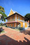 Wat Niwet Thammaprawat ,Thai Temple in the style of an English G. Othic church Royalty Free Stock Image