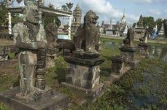 Wat Nokor. Καμπότζη Στοκ Φωτογραφία
