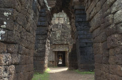 Wat Nokor. Kambodża Obraz Royalty Free