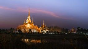 Wat Non Kum Temple bonito fotografia de stock