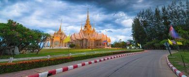 Wat Non Kum Temple em Tailândia Foto de Stock
