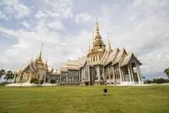Wat Non Kum Temple, Nakhon Ratchasima, Tailândia Foto de Stock