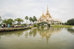 Wat Non Kum Temple, Nakhon Ratchasima, Thaïlande Image stock