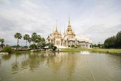 Wat Non Kum Temple Nakhon Ratchasima, Thailand Arkivfoton