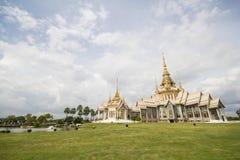 Wat Non Kum Temple Nakhon Ratchasima, Thailand Fotografering för Bildbyråer