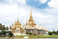 Wat Non Kum, Temple in Nakhon Ratchasima Thailand Stock Photos