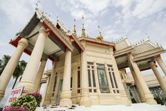 Wat Non Kum Temple, Nakhon Ratchasima, Thailand. Beautiful and famous temple Stock Photo