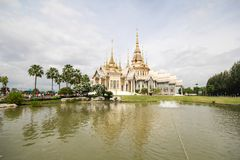 Wat Non Kum Temple, Nakhon Ratchasima, Thailand. Beautiful and famous temple Stock Photos