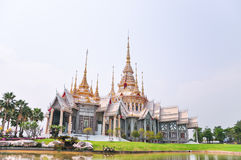 Wat Non Kum Thailand temple Royalty Free Stock Images