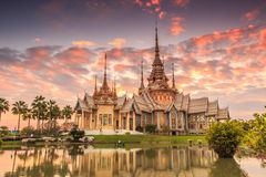 Wat Non Kum or Wat Somdej Toh Brahmaramsi Stock Photos