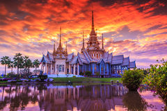 Wat Non Or Wat Somdej Toh Brahmaramsi Stock Photo