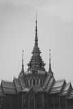 Wat None black and white. Wat None Kum,Nakhon Ratchasima black and white,Thailand stock photography