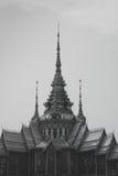 Wat None Kum blanco y negro Fotografía de archivo