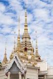 Wat None Kum i Nakhon Ratchasima Arkivbild