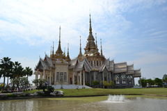 Wat None Kum (Luang Pho To Temple) Royalty Free Stock Photography