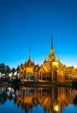 Wat Nonekum寺庙到达地在泰国 图库摄影
