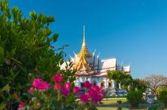 Wat Nonekum寺庙到达地在泰国 免版税图库摄影