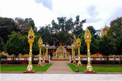 Wat Nong Bua Stockfotos