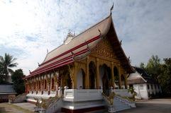 Wat Nong Sikhunmeuang - le Laos Photo libre de droits