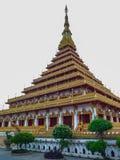 Wat Nong Waeng Khonkaen Stock Afbeelding