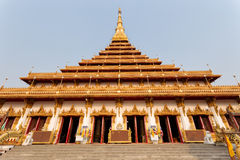 Wat Nong Waeng (Temple) ,Khonkaen Province‎ ,Thailand Stock Photo